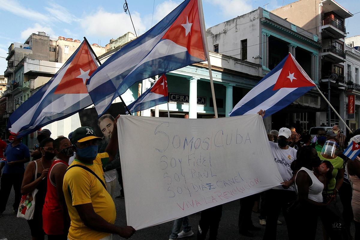 На Кубе ввели чрезвычайное положение на фоне массовых протестов