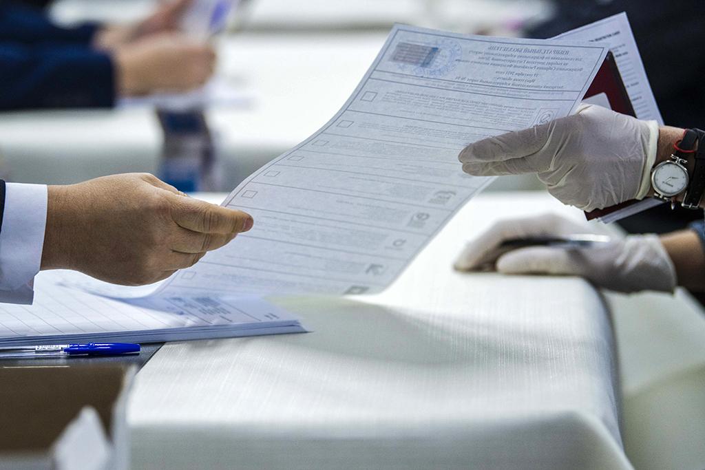 ЦИК опубликовала первые результаты выборов в Госдуму
